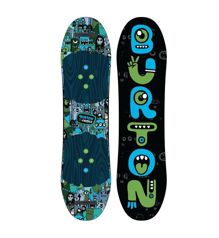 Burton set tavola snowboard chopper attacco - Costruire tavola da snowboard ...