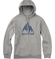 Burton Classic Mountain Pullover Hoodie, Gray Heather