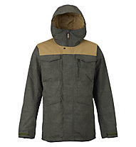 Burton Covert - Snowboardjacke - Herren, Green/Brown