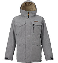 Burton Covert - Snowboardjacke - Herren, Light Grey