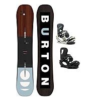 Burton Set Snowboard Custom Flying V + Snowboard-Bindung