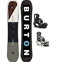 Burton Set Snowboard Custom Wide + Snowboard-Bindung