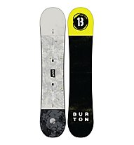 Burton Descendant - Snowboard - Herren, Black/Grey/Lime