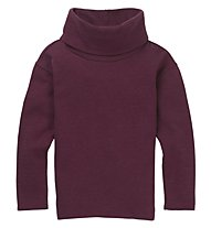 Burton Ellmore - maglia a manica lunga - donna, Dark Red