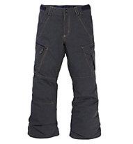 Burton Exile Cargo P - pantaloni snowboard - bambino, Black