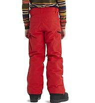 Burton Exile Cargo P - pantaloni snowboard - bambino, Red