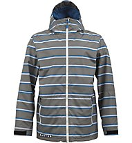 Burton Faction Jacket, Jet Pack/Marcos Stripe