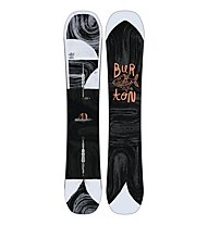 Burton Flight Attendant Wide - Snowboard Freeride - Herren, Black/White