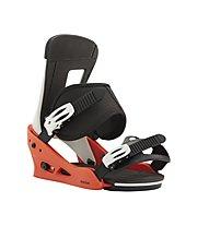 Burton Men's Freestyle Re:Flex Binding - Snowboard-Bindung - Herren, Red/White/Black