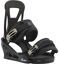 Burton Freestyle Re:Flex Attacchi Snowboard, Black