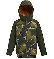 Burton Gameday - Snowboardjacke - Kinder, Green/Dark Green