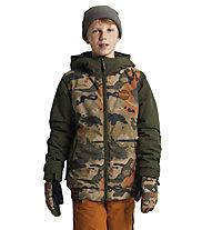 Burton Gameday - Snowboardjacke - Kinder, Brown/Green