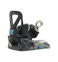 Burton Grom - attacco snowboard - bambino, Black