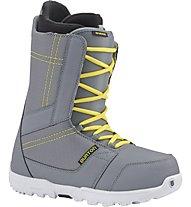 Burton Invader - Scarponi Snowboard All Mountain - uomo, Gray/Yellow