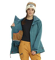 Burton Jet Set - Snowboardjacke - Damen, Light Blue