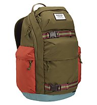 Burton Kilo Pack 27 L - zaino daypack, Brown/Red
