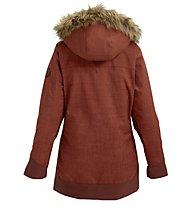 Burton Lelah J - giacca snowboard - donna, Red