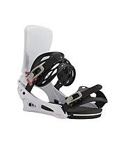 Burton Men's Cartel Re:Flex Binding - attacco snowboard - uomo, White