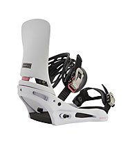 Burton Men's Cartel Re:Flex Binding - attacco snowboard - uomo, White
