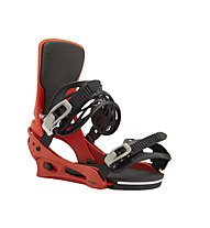 Burton Men's Cartel Re:Flex Binding - attacco snowboard - uomo, Red