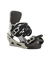 Burton Men's Cartel X Re:Flex - attacco snowboard - uomo, Gray