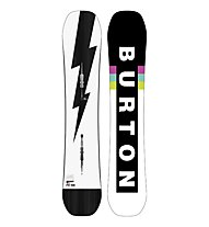 Burton Men's Custom Flying V Wide - tavola da snowboard - uomo, White/Black