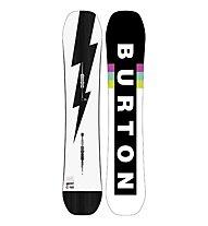 Burton Men's Custom Wide - Snowboard - Herren, White/Black
