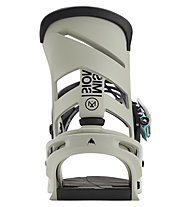 Burton Men's Mission Re:Flex - Snowboard-Bindung - Herren, Grey/Green