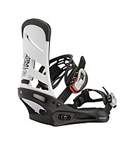Burton Men's Mission Re:Flex - Snowboard-Bindung - Herren, White/Black