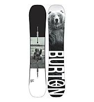 Burton Men's Process wide - Snowboard - Herren, White/Black