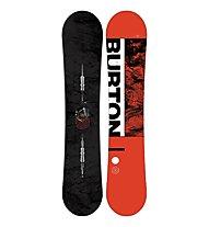 Burton Men's Ripcord Wide - tavola snowboard - uomo, Black/Red
