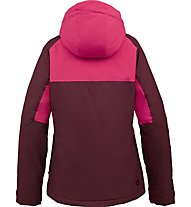 Burton Method Snowboardjacke Damen, Sangria Colorblock