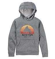 Burton Oak Pullover - felpa con cappuccio - bambino, Grey