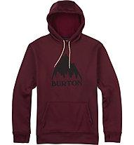 Burton Oak Pullover - felpa con cappuccio - uomo, Dark Red