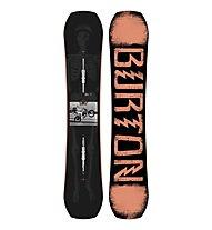 Burton Paramount - tavola da snowboard - uomo, Black/Orange