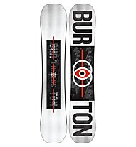 Burton Process Flying V Wide - Snowboard All Mountain/Park, White