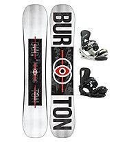 Burton Set Snowboard Process Flying V Wide + Snowboard-Bindung