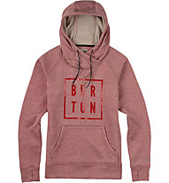 Burton Quartz Kapuzenpullover, Coral Heather