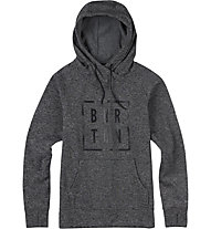 Burton Quartz Kapuzenpullover, True Black Heather