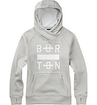 Burton Quartz Kapuzenpullover, Dove Heather