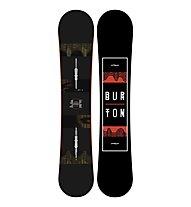Burton Ripcord - Snowboard All Mountain, Black/Red