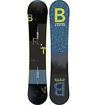 Burton Ripcord Wide - Snowboard All Mountain, Black/Blue
