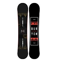 Burton Ripcord Wide - Snowboard All Mountain - Herren, Black/Red
