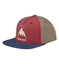 Burton Roustabout - cappellino con visiera - uomo, Red/Brown
