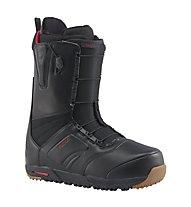 Burton Ruler - scarponi da snowboard all mountain - uomo, Black