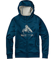 Burton Scoop Hoodie Damen, Celestial Heather