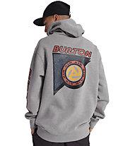 Burton Sequoia Hoodie - felpa con cappuccio - uomo, Grey