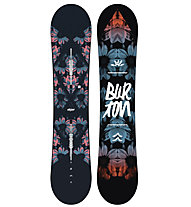 Burton Stylus - Snowboard All Mountain - Damen, Black/Red/Blue