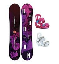 Burton Set Snowboard Stylus + Snowboard-Bindung