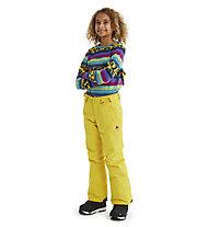 Burton Sweetart Pant - pantaloni snowboard - bambina, Yellow